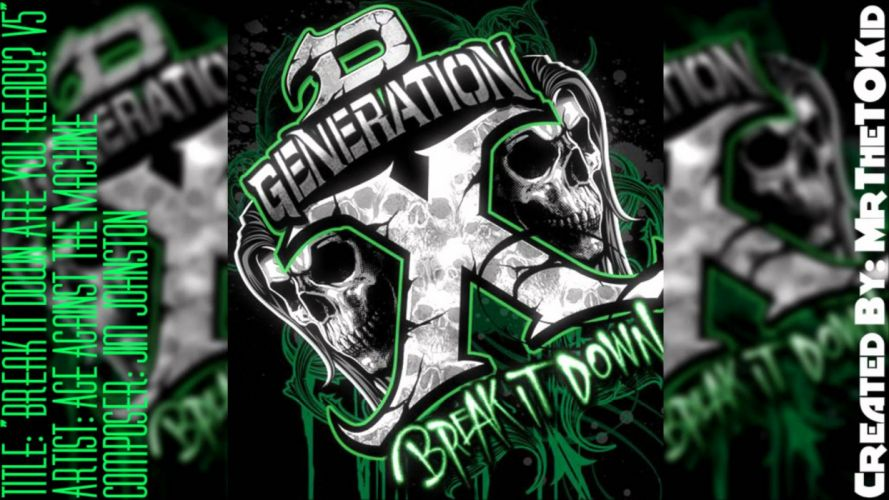 WWE wrestling dark skull f wallpaper