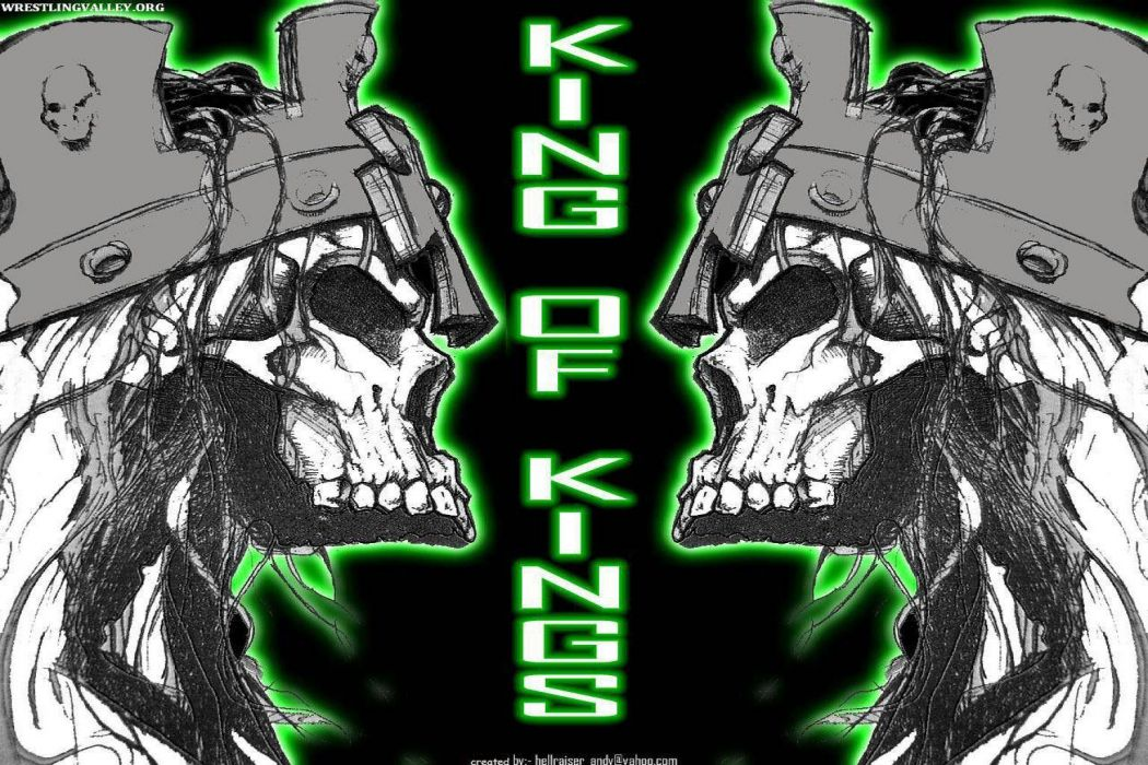 WWE wrestling dark skull fantasy wallpaper