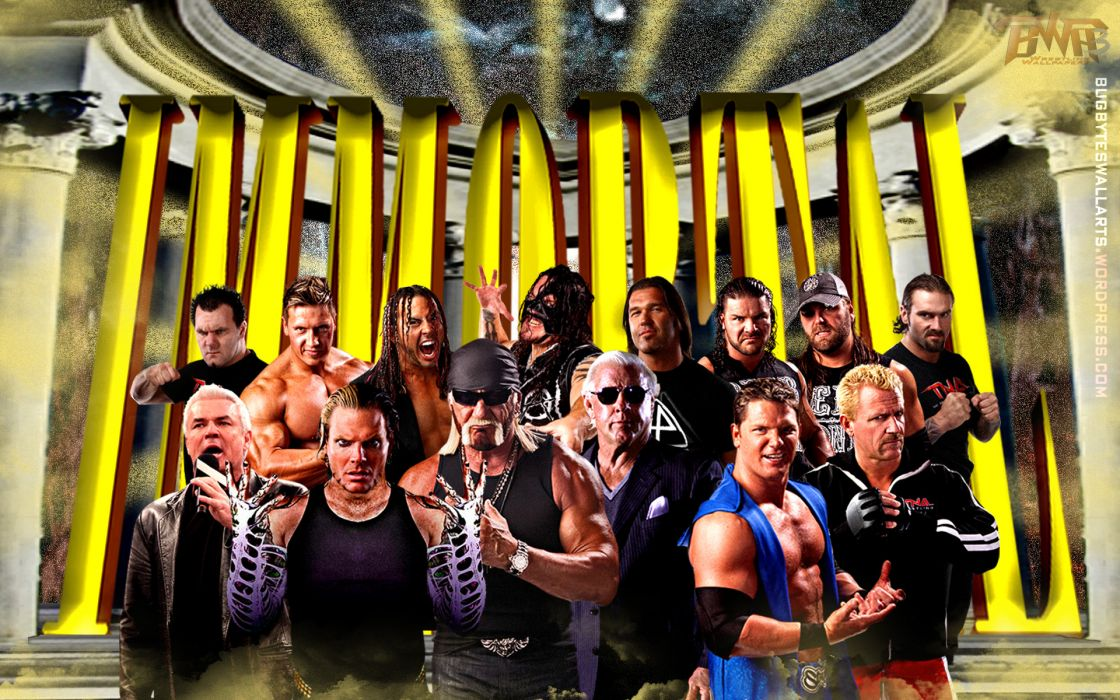 TNA wrestling   f wallpaper