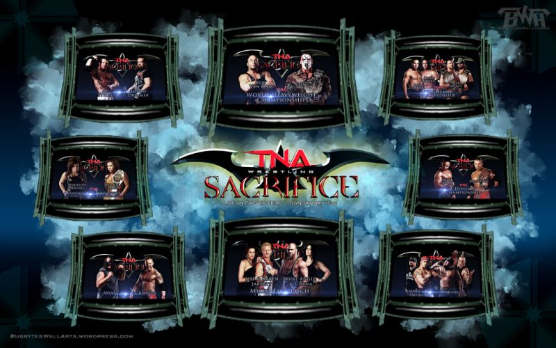 TNA wrestling fs wallpaper