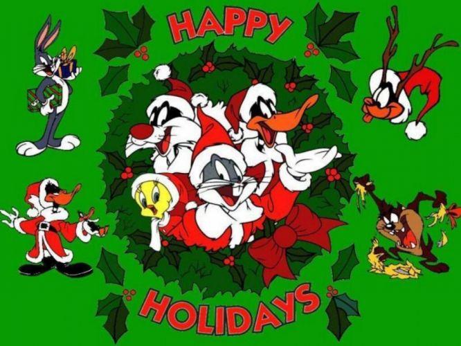 BUGS BUNNY looney tunes christmas f wallpaper