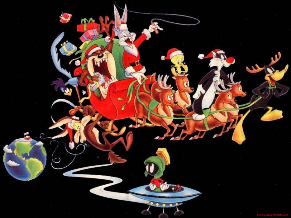 BUGS BUNNY looney tunes christmas  xc wallpaper