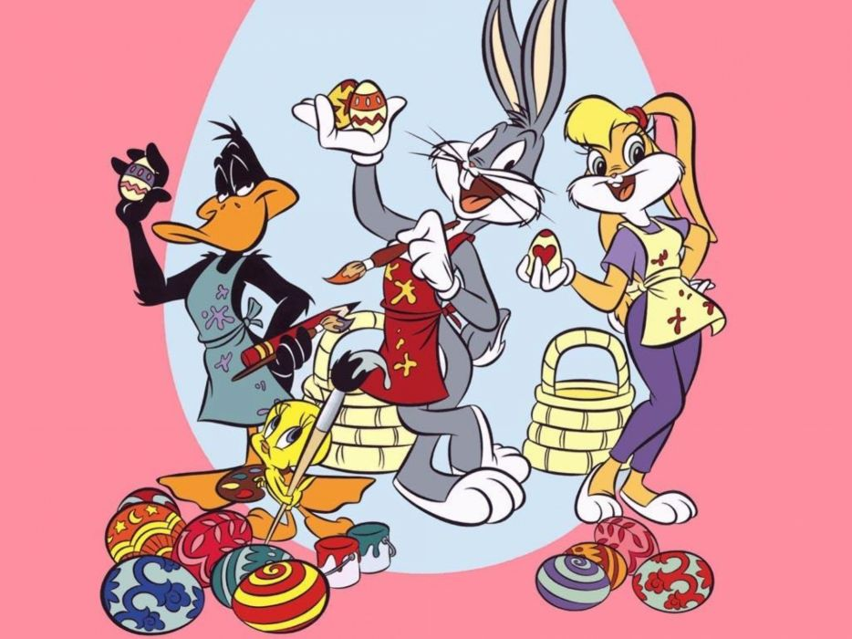 BUGS BUNNY looney tunes easter g wallpaper