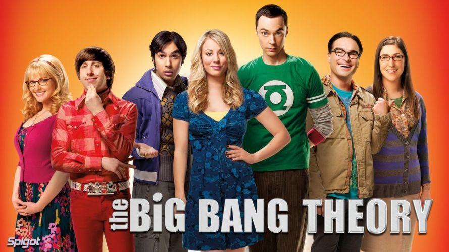THE BIG BANG THEORY f wallpaper