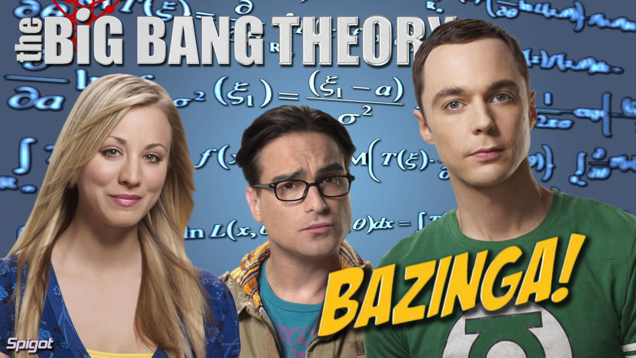 THE BIG BANG THEORY  hp wallpaper