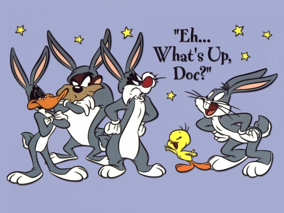 bugs bunny daffy sylvester    d wallpaper