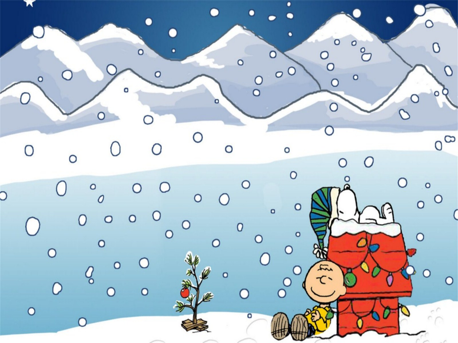 CHARLIE BROWN peanuts comics christmas snoopy g wallpaper ...