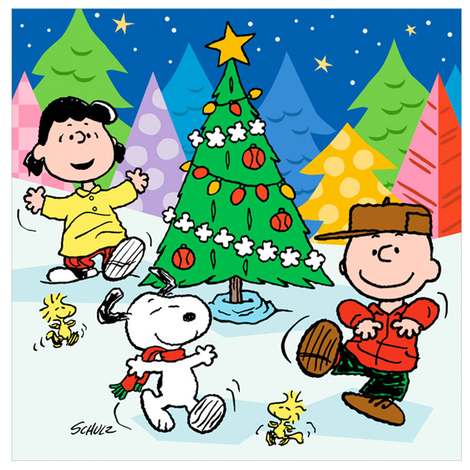 Peanuts christmas wallpaper 2017 grasscloth wallpaper - Free snoopy images ...