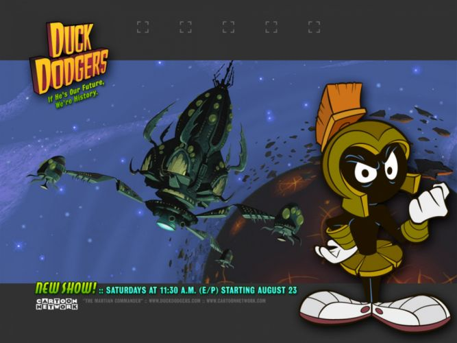 MARVIN THE MARTIAN looney tunes d wallpaper