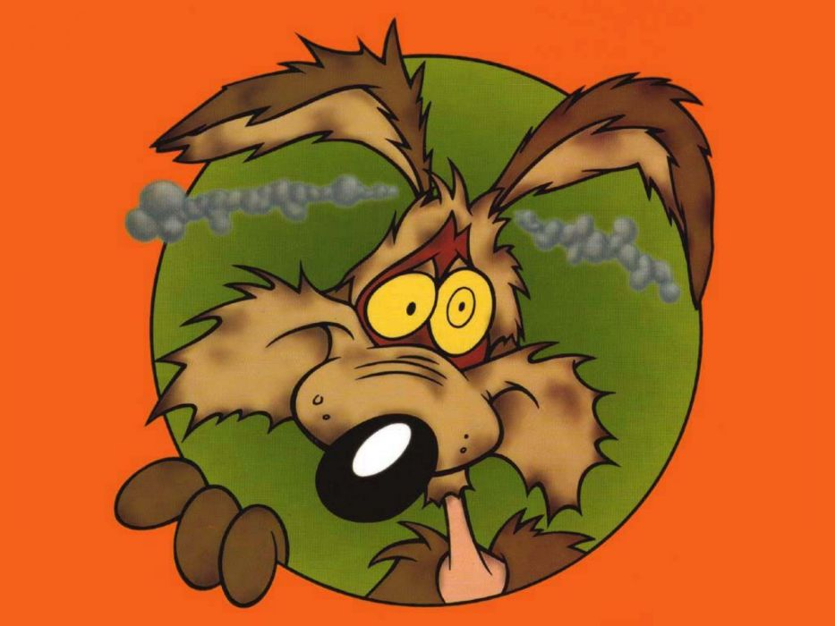WILE E COYOTE looney g wallpaper