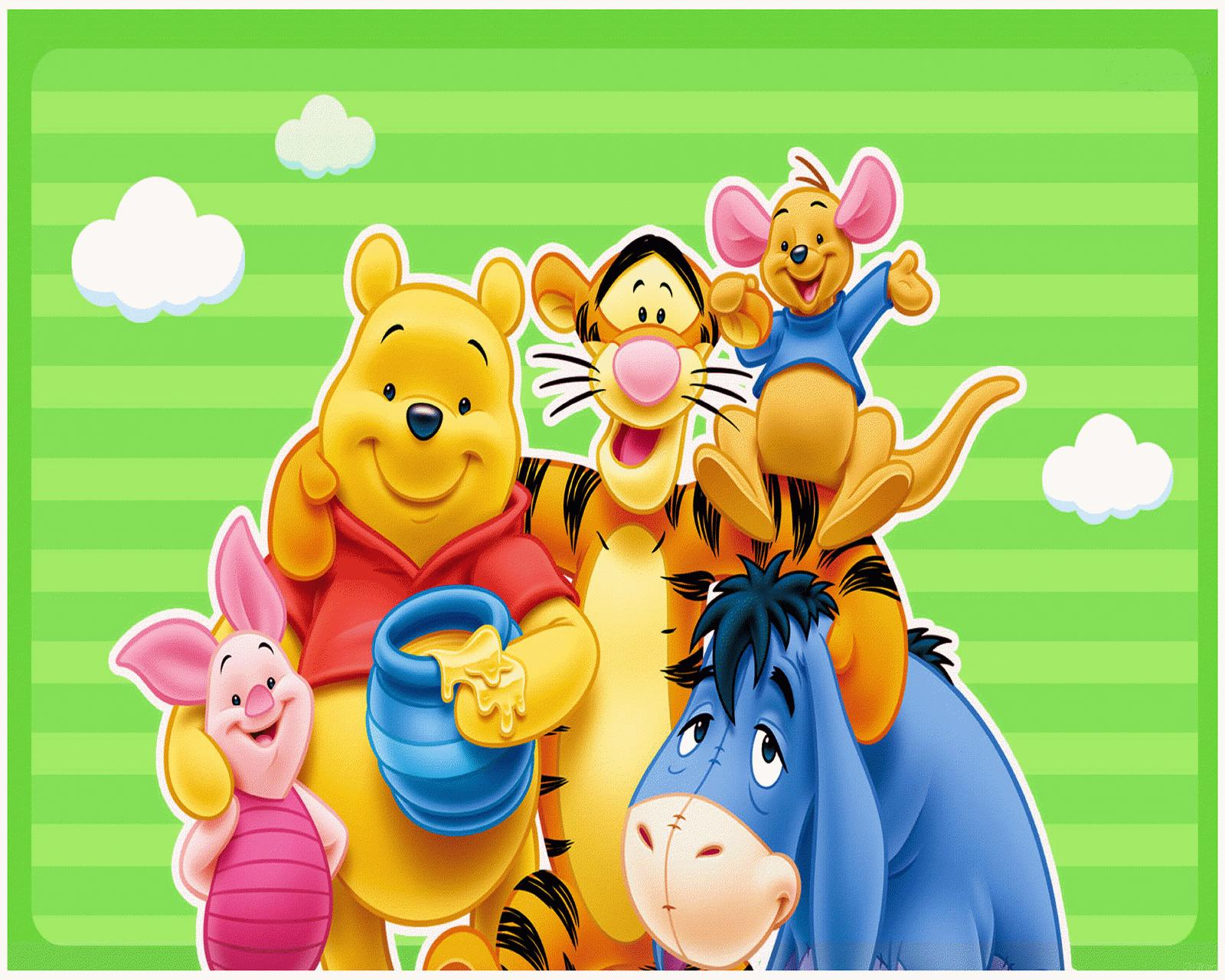 winnie the pooh easter wallpaper