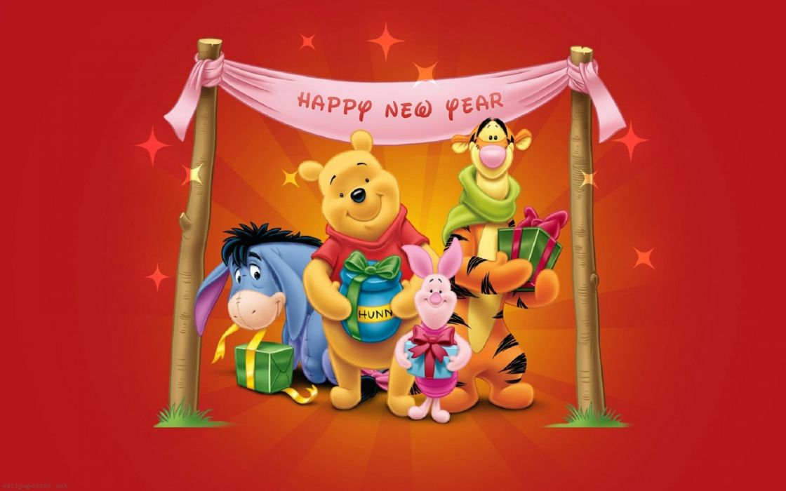 WINNIE THE POOH disney year years    f wallpaper