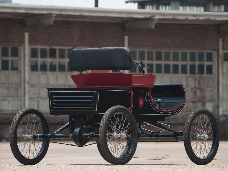 1903 Oldsmobile Model-R Curved Dash Runabout retro    g wallpaper