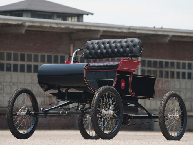 1903 Oldsmobile Model-R Curved Dash Runabout retro h wallpaper