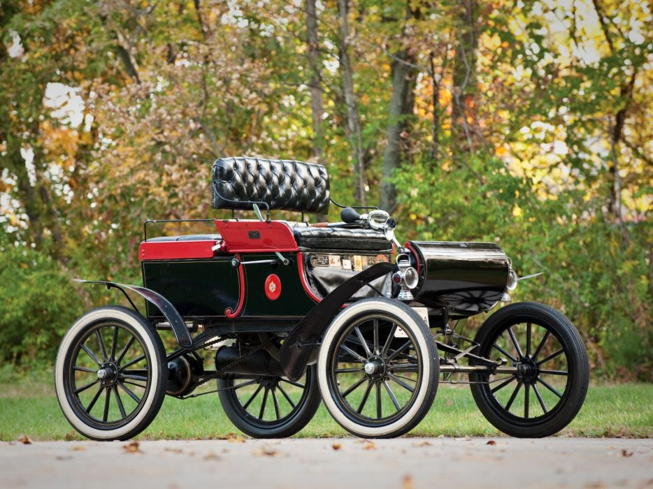 1903 Oldsmobile Model-R Curved Dash Runabout retro  j wallpaper