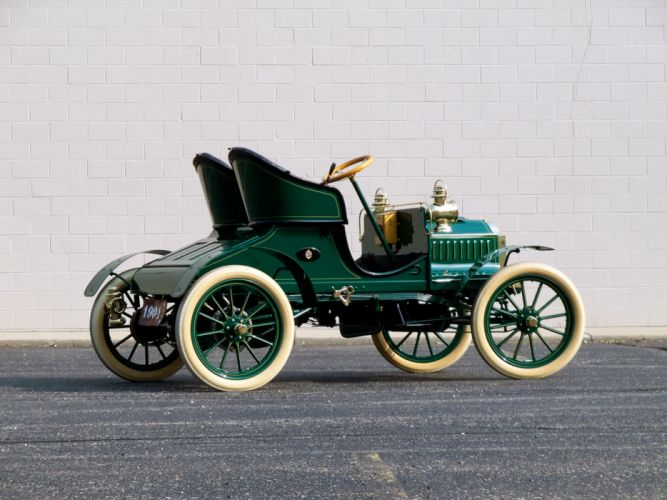 1904 Oldsmobile French Front Touring Runabout retro wallpaper
