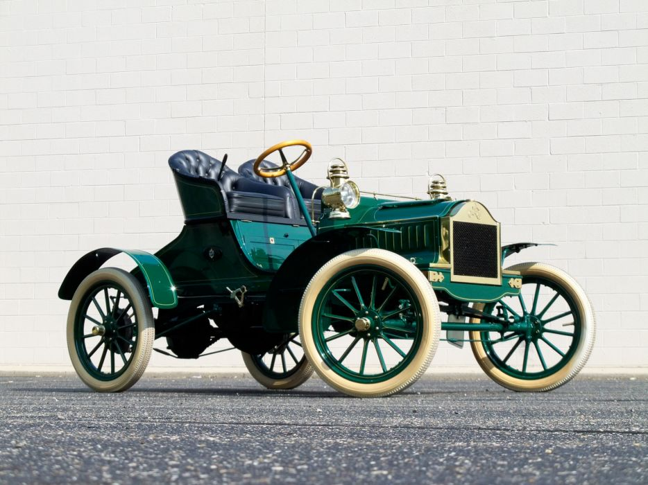 1904 Oldsmobile French Front Touring Runabout retro   hd wallpaper