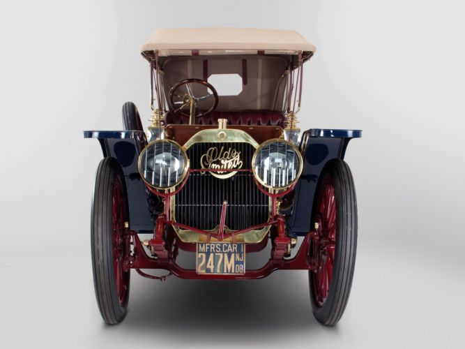 1908 Oldsmobile Limited Touring retro h wallpaper