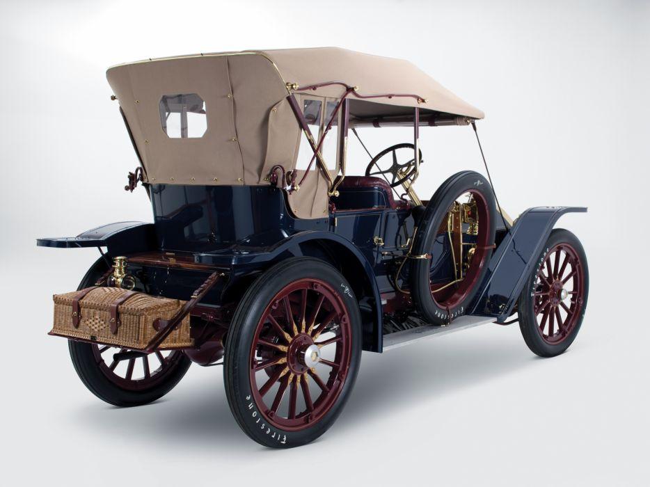 1908 Oldsmobile Limited Touring retro wheel     h wallpaper