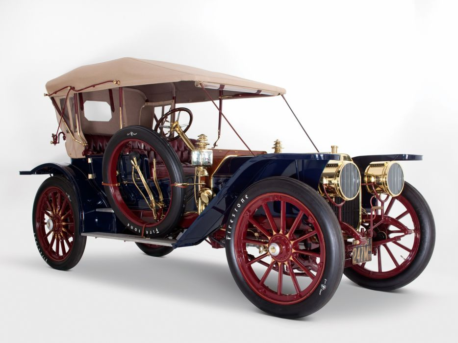 1908 Oldsmobile Limited Touring retro wheel    h wallpaper