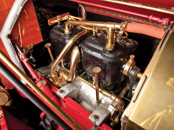 1909 Oldsmobile Model-X3 Touring retro engine h wallpaper