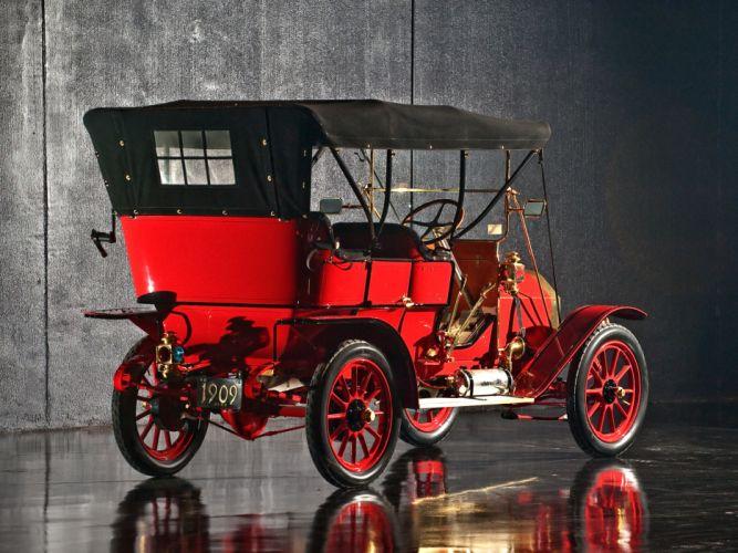 1909 Oldsmobile Model-X3 Touring retro wallpaper