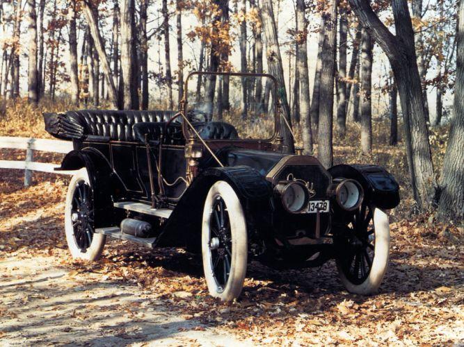 1911 Oldsmobile Limited Touring (Model-27) retro wallpaper