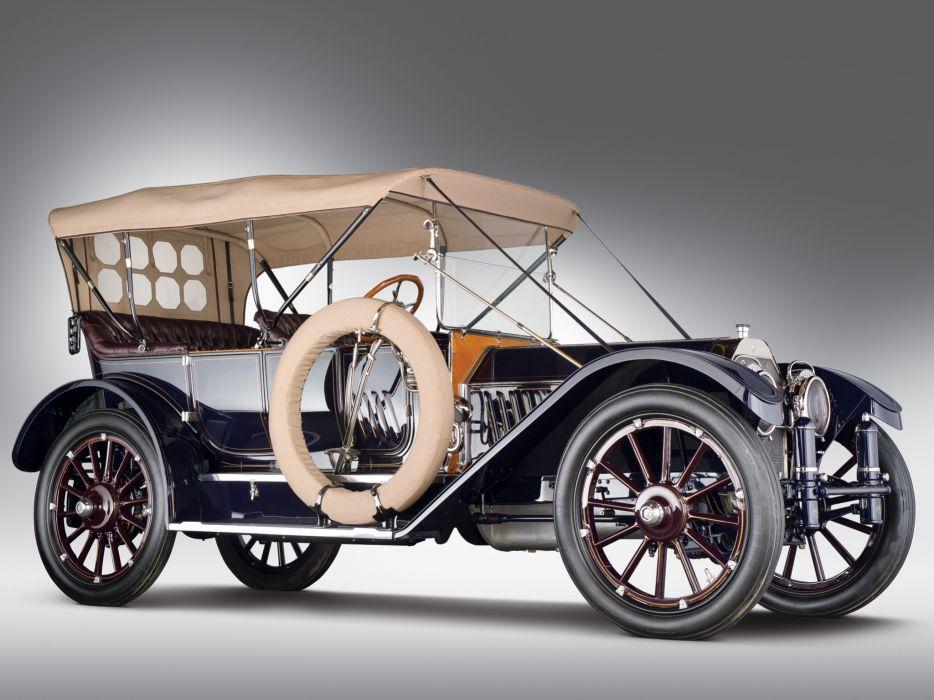 1912 Oldsmobile Limited Five-Passenger Touring retro wallpaper
