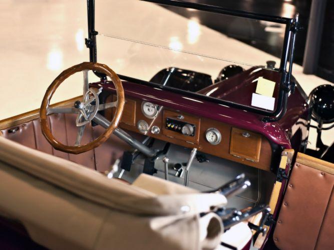1916 Oldsmobile Model-44 Roadster retro interior g wallpaper