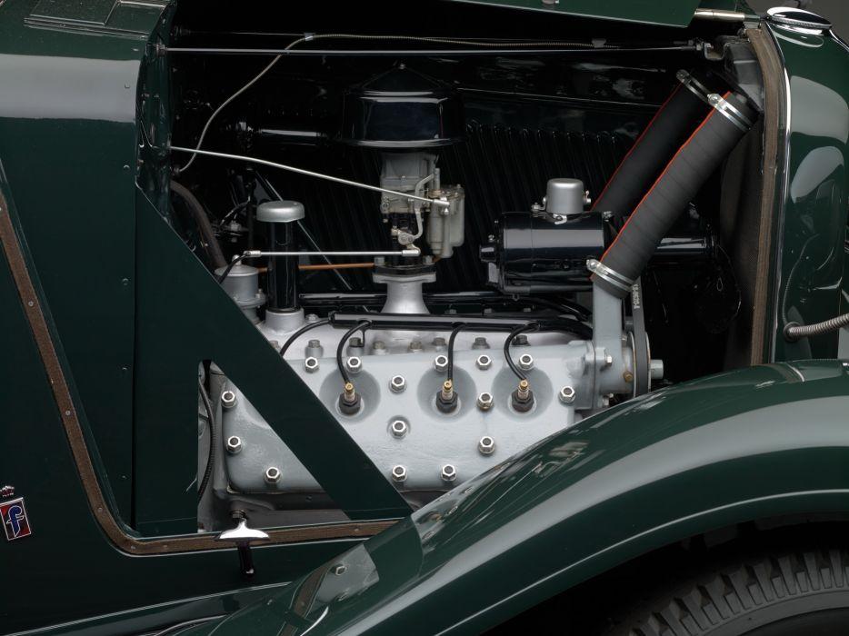 1932 Ford V8 Cabriolet by Pinin Farina retro v-8 luxury engine     f wallpaper