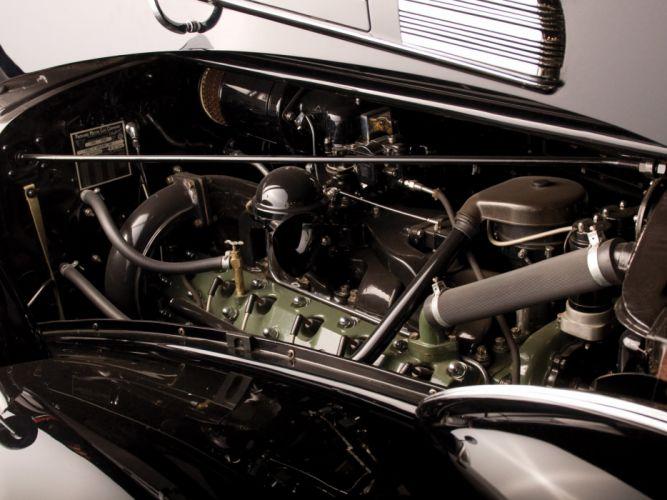 1938 Packard Twelve Convertible Sedan luxury retro engine j wallpaper