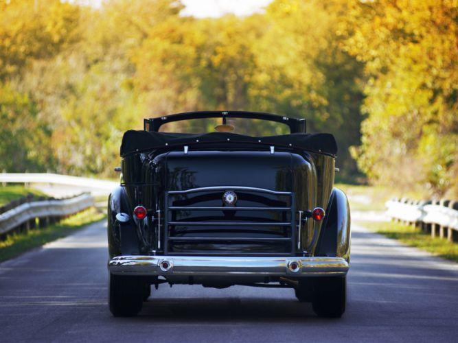 1938 Packard Twelve Convertible Sedan luxury retro hf wallpaper