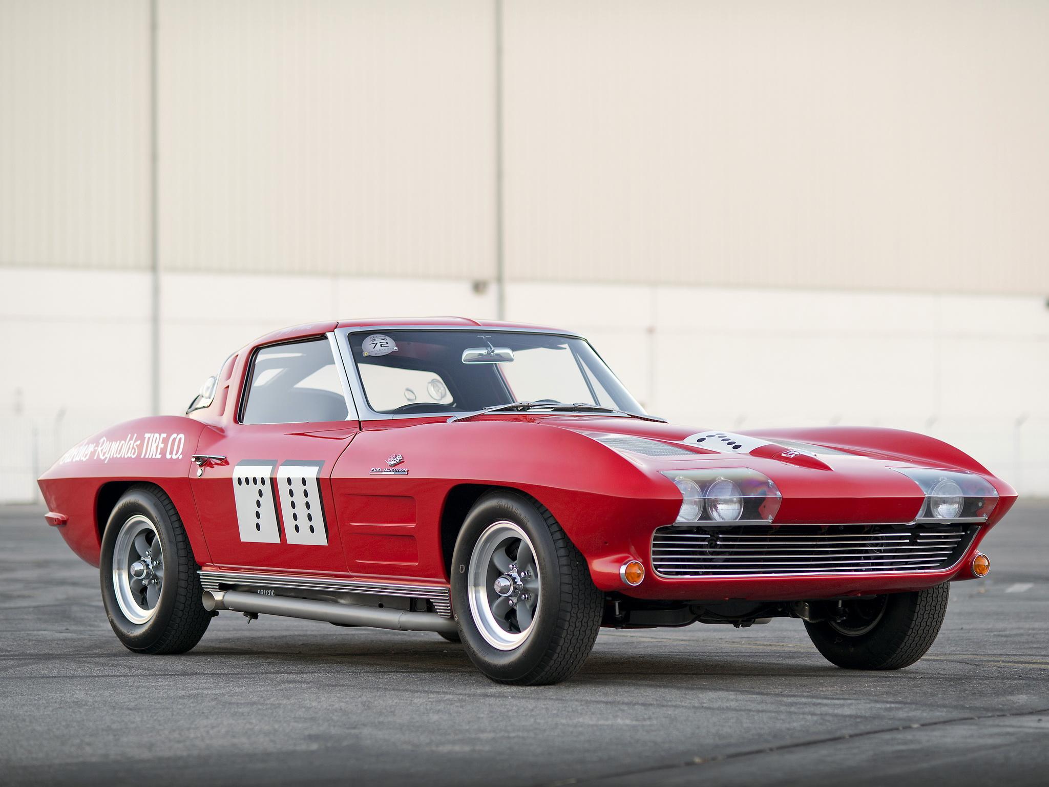 1969 Corvette Stingray >> 1963 Chevrolet Corvette Sting Ray Race Car 7-11 (C2 ...