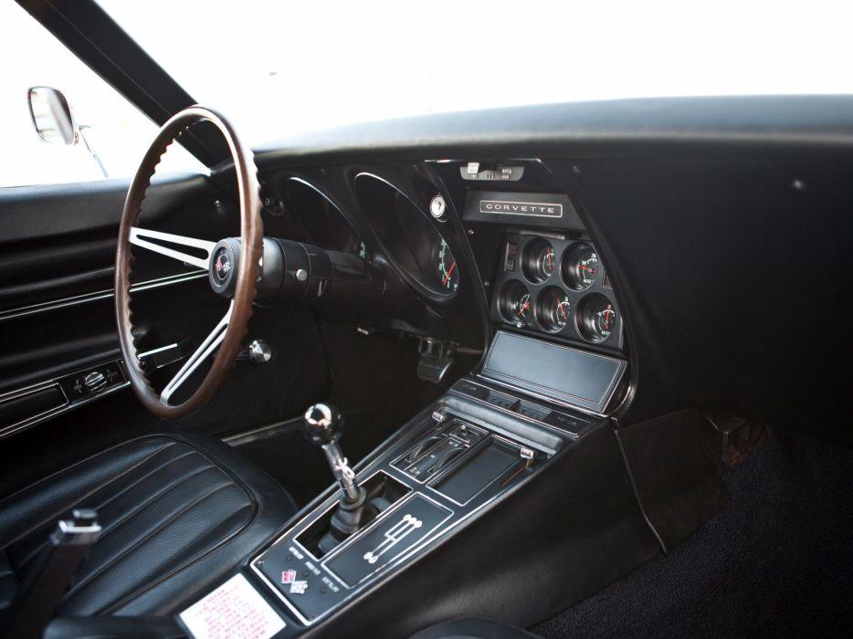 1968 Chevrolet Corvette L88 427 Coupe (C3) supercar muscle classic interior r wallpaper