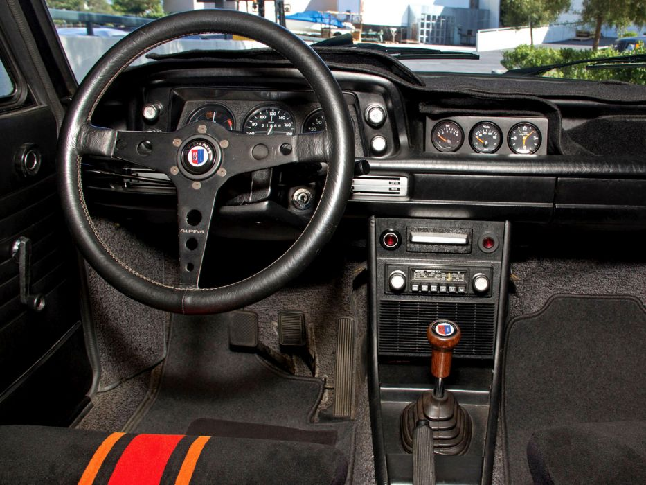 1974 BMW 2002 Tii Touring By Alpina (E10) Classic Interior Wallpaper