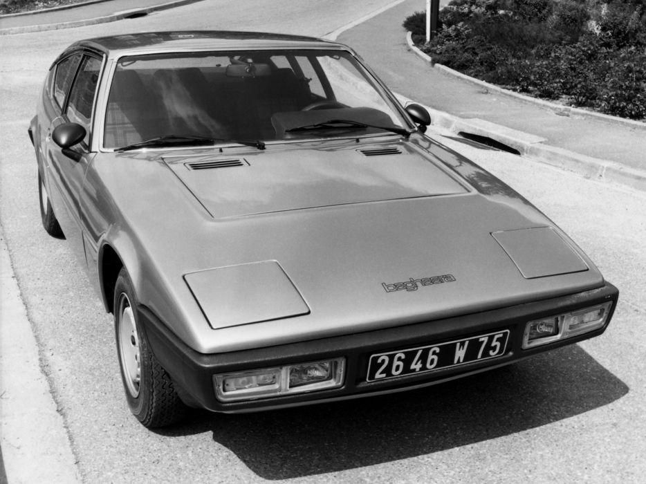 1974 Matra-Simca Bagheera supercar classic wallpaper