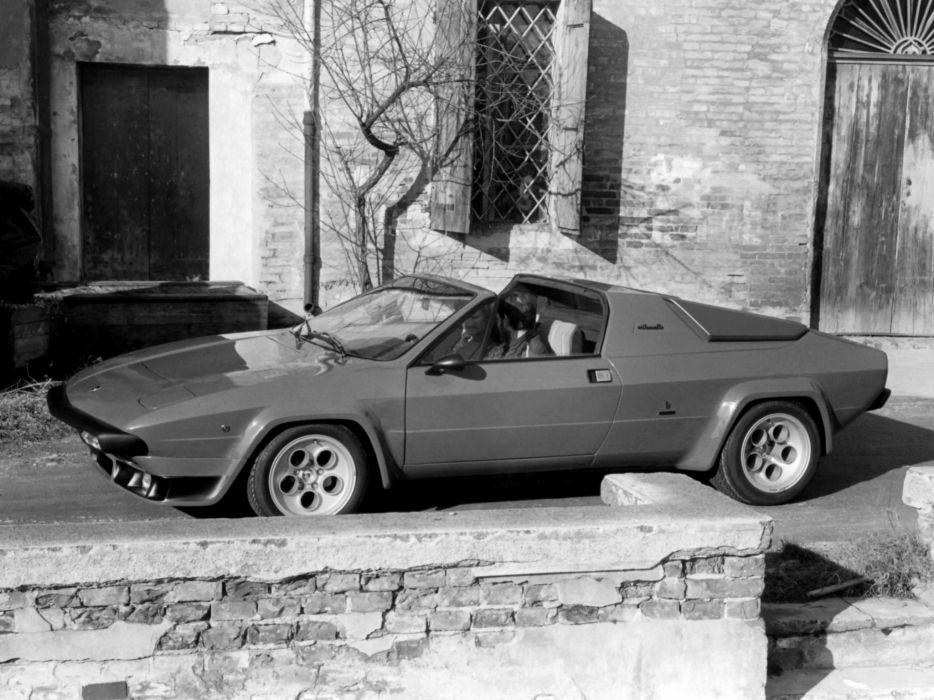 1979 Lamborghini Silhouette P300 supercar wallpaper