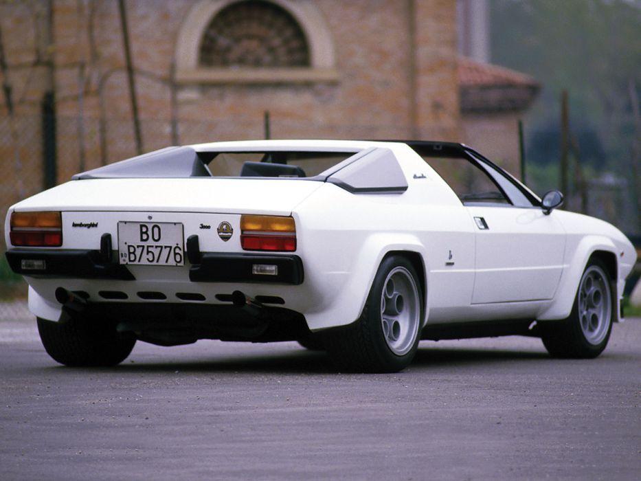 1979 Lamborghini Silhouette P300 supercar  fa wallpaper