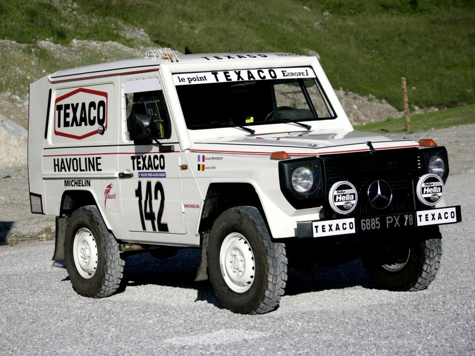 1983 Mercedes Benz G-Klasse 280 GE Paris Dakar W460 4x4 race racing suv wallpaper