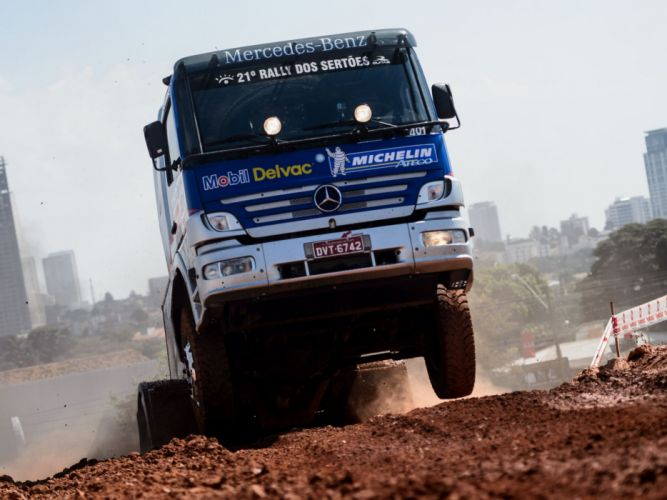 2006 Mercedes Benz Atego 1725 Rally Truck race racing offroad j wallpaper