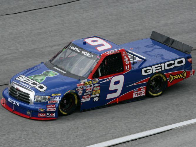 2009 Toyota Tundra NASCAR Camping World Series Truck race racing wallpaper