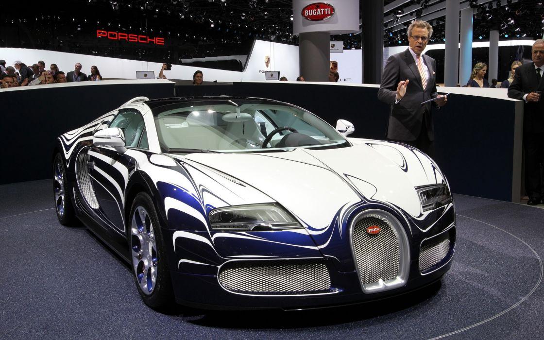 2011 Bugatti Veyron Grand Sport L'Or Blanc supercar     gs wallpaper