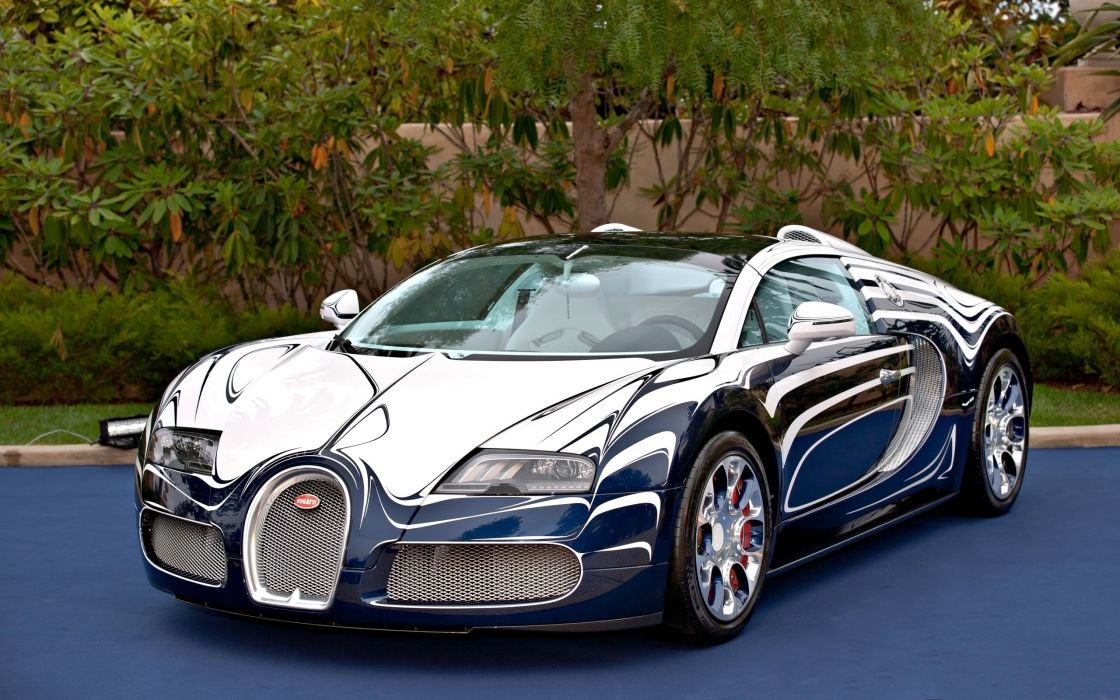 2011 Bugatti Veyron Grand Sport L'Or Blanc supercar   hd wallpaper