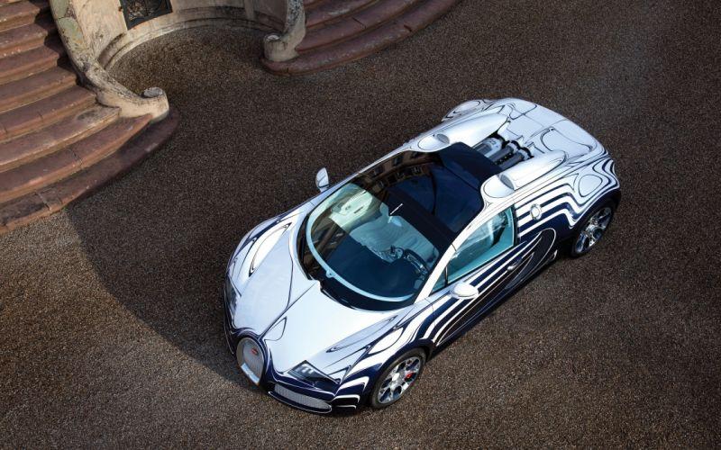 2011 Bugatti Veyron Grand Sport L'Or Blanc supercar wallpaper