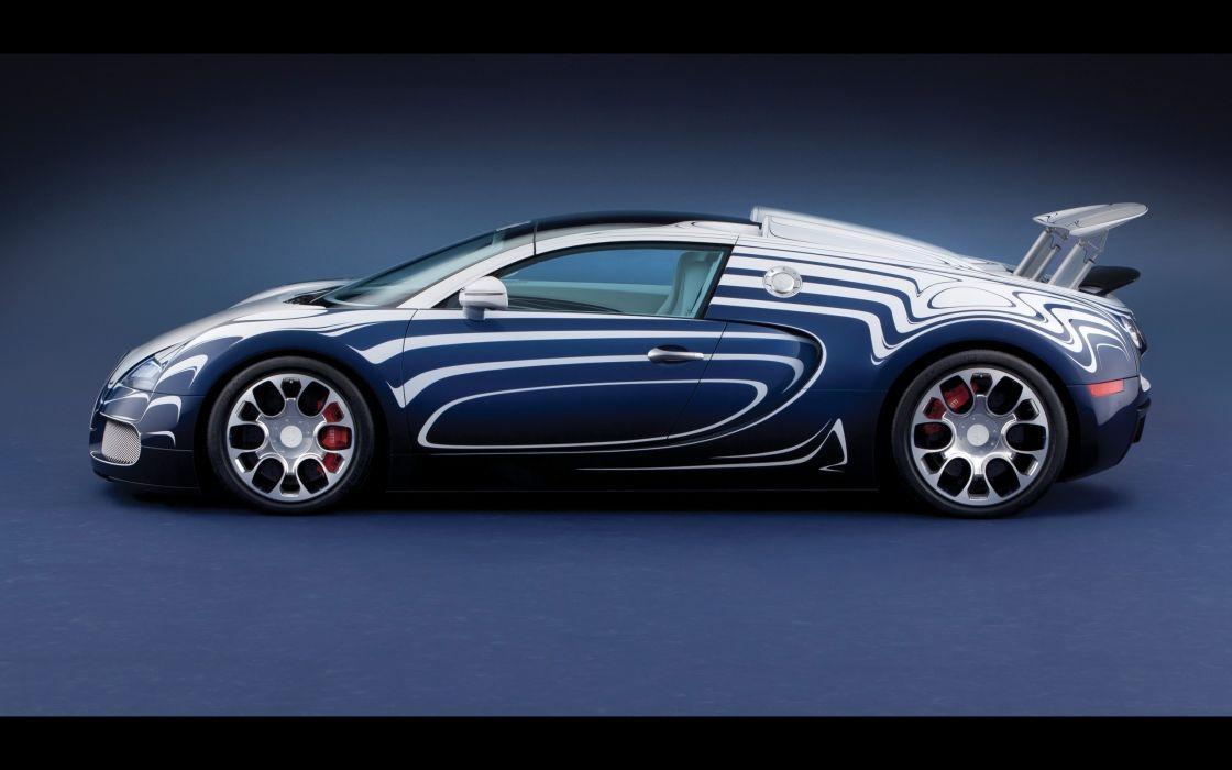 2011 Bugatti Veyron Grand Sport L'Or Blanc supercar  hg wallpaper