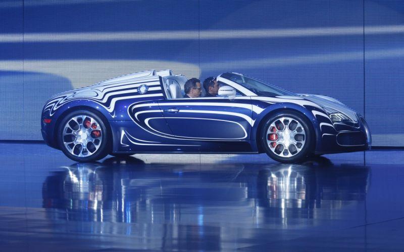 2011 Bugatti Veyron Grand Sport L'Or Blanc supercar f wallpaper