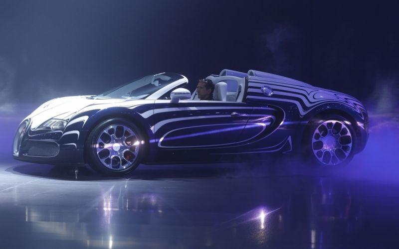2011 Bugatti Veyron Grand Sport L'Or Blanc supercar hs wallpaper