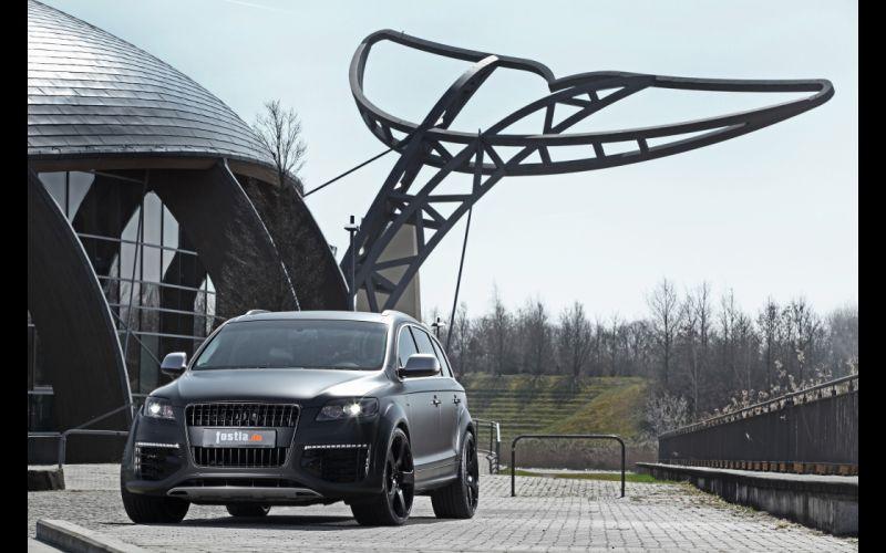 2012 fostla Audi Q7 V12 TDI tuning suv q-7 wallpaper