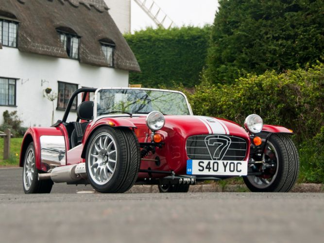 2013 Caterham Seven Limited Edition Pack supercar wallpaper