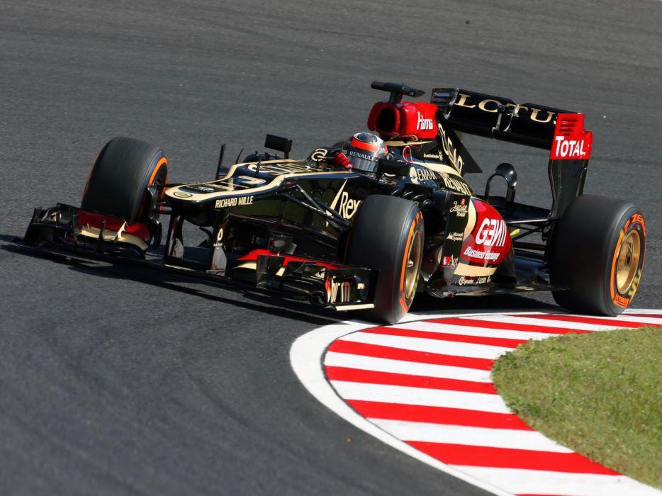 2013 Lotus E21 Formula One race racing f-1    g wallpaper